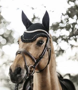 Kentucky Horsewear Fliegenmütze Wellington Stone & Pearl