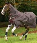 Horseware Turnoutdecke Amigo Bravo12 Plus100g - braun-rot-gold