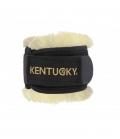 Kentucky Horsewear Fesselschutz Lammfell - schwarz