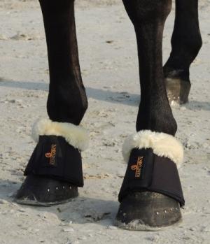 Kentucky Horsewear Sprungglocken Lammfell Solimbra