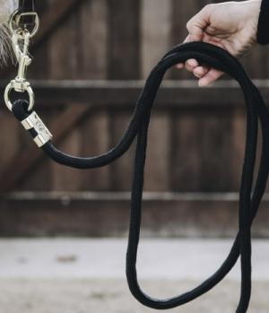 Kentucky Horsewear Führleine Führstrick Basic Karabinerhake