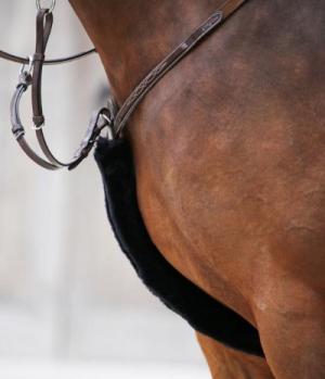 Kentucky Horsewear Vorderzeugschoner Lammfell