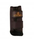 Kentucky Horsewear Gamasche 3D Spacer Quick Dry Lining - braun