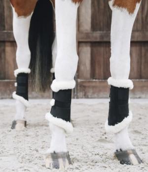 Kentucky Horsewear Gamasche Boots Air Nubuck Leder Lammfell