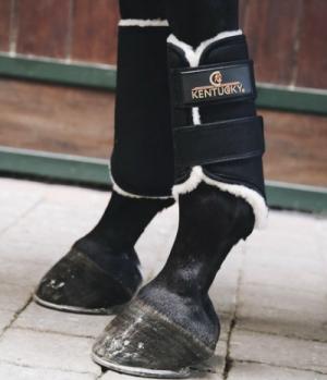 Kentucky Horsewear Gamasche Solimbra Lammfell Full wasserd