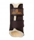 Kentucky Horsewear Gamasche Solimbra Lammfell Full wasserd - braun