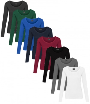 Textil Longsleeve Jersey Promodoro easy care