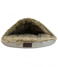Kentucky Dogwear Hundebett Igloo FauxFur Premium - brown