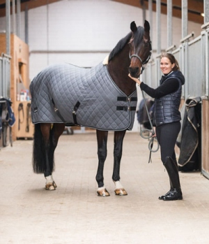 Equine Microtec Funktionsdecke Flanell Touch gesteppt