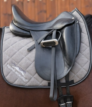 Equine Microtec Schabracke Baumwoll Canvas Air