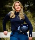 PS of Sweden Shirt Damen Funktion Base Layer Bianca - dunkel blau