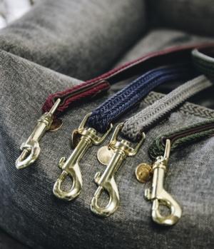 Kentucky Dogwear Hundeleine Plaited Leder Nylon