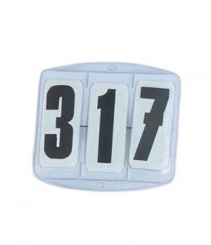 Busse Startnummern mit Gummibändern (10)