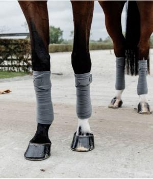 Kentucky Horsewear Bandagen Polar Fleece Pearls