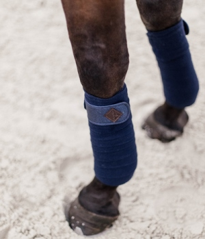 Kentucky Horsewear Bandagen Polar Fleece Glitter