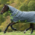 Horseware Turnoutdecke Amigo Bravo12Plus100g - grey/lime