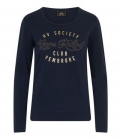 HV Polo Shirt Angel Longsleeve Funktion Lycra - navy