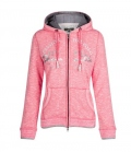 HV Polo Sweat Jacke Lucette Hoody Sale - raspberry