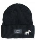 Kentucky Horsewear Mütze Beanie Sammy Strick - schwarz