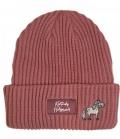 Kentucky Horsewear Mütze Beanie Sammy Strick - rosa