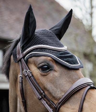 Kentucky Horsewear Fliegenmütze Wellington Velvet