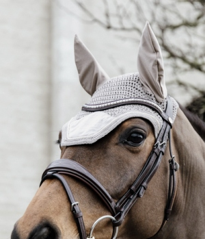 Kentucky Horsewear Fliegenmütze Wellington Velvet