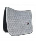 Kentucky Horsewear Schabracke Basic Samt Velvet - grau