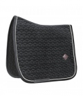 Kentucky Horsewear Schabracke Basic Samt Velvet - schwarz