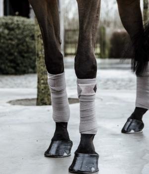 Kentucky Horsewear Bandagen Polar Fleece Velvet Samt