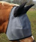 Inno Horse Lichtschutzmaske SunBlock 77%  mit Ohren - schwarz
