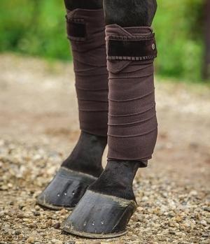 PS of Sweden Bandagen Fleece 4er Set Ruffle