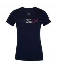 Kingsland T-Shirt Basic KLmoria Ladies 100% Cotton - navy