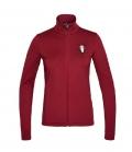 Kingsland Jacke Fleece Jersey KLminta Ladies FS21 - burgundy