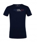 Kingsland T-Shirt Basic KLmorris Youth 100% Cotton - navy