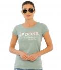 Spooks T-Shirt Damen Fabie FS´21 - dustygreen