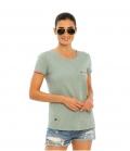 Spooks T-Shirt Damen Mika FS´21 - dustygreen