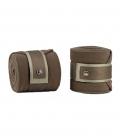 PS of Sweden Bandagen Fleece 4er Pack Anti-Pilling - beige