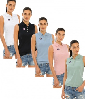 Spooks Polo Shirt Damen Leene ohne Arm FS´21