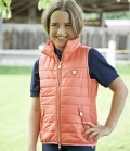 Covalliero Weste Youth gesteppt leicht FS21 - coral