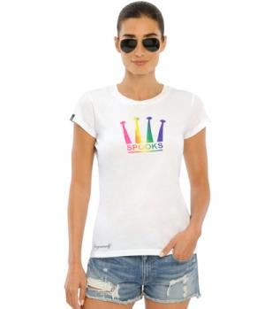 Spooks T-Shirt Damen Rainbow Crown FS´21