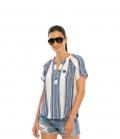 Spooks Shirt Bluse Damen Larah FS´21 - blue