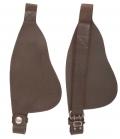 Barefoot Fender breite Ausführung 5cm Durchlaß - braun