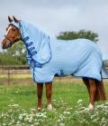 Horseware Amigo Ripstop Hoody Lite 600D Pony - azure blue