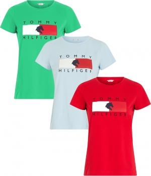 HILFIGER T-Shirt Rundhals Tommy Hilfiger Equestri