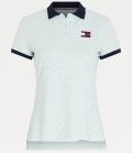 HILFIGER Polo Shirt Iconic Monogram FS´21 - oxygen