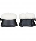 HKM Glocken Shetty Comfort mit Fell - schwarz