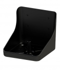 Kerbl Lecksteinhalter Kunststoff - schwarz