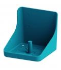 Kerbl Lecksteinhalter Kunststoff - aquamarin