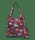 Waldhausen Shopper Tasche mit Pferderassen*** - bordeaux