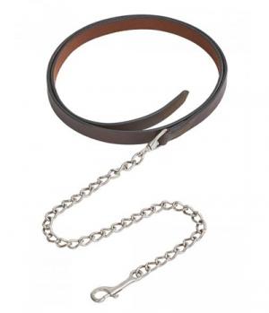 Wildhorn Führkette Medina Leder Kette 70cm